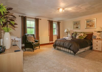 Bedroom #1 at Chapel Green, Polgooth