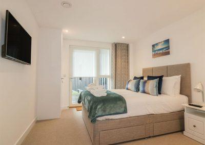 Bedroom #1 at Chapel Rock View, Perranporth