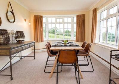 The dining room at Charlesworth, Ashford