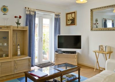 The living area at Chaucer Rise, Hulham