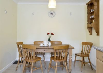 The dining area at Chaucer Rise, Hulham