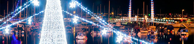 Torquay has exactly what it takes to provide a great Christmas holiday break or a relaxing time with the family in the weeks leading up to Christmas.