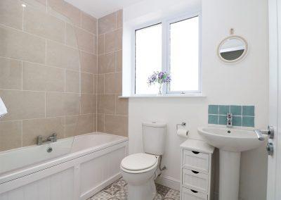 The bathroom at Chy-an-Mor, Port Isaac