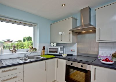 The kitchen at City Reach, Exeter