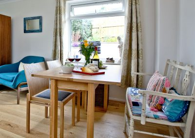 The dining area at City Reach, Exeter