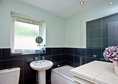 The bathroom at City Reach, Exeter