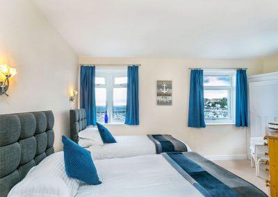 Bedroom #2 at Cliff Cottage, Brixham