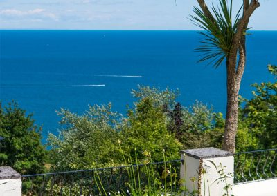 Fantastic sea views from Cliff Lodge, Maidencombe