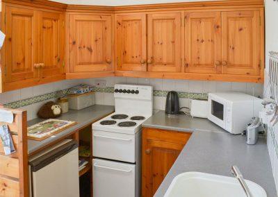 The kitchen at Cobblers Cottage, Boscastle