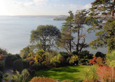 The view from Cockington, Bay Fort Mansions
