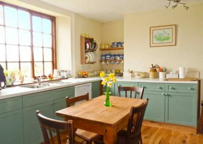 The kitchen at Coles Cottage, Derriton
