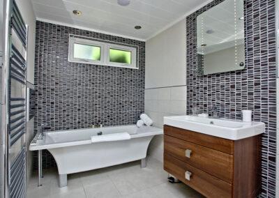 Bedroom #2 en-suite at Combe Lodge, Kentisbury Grange, Kentisbury
