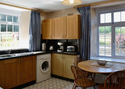 The kitchen at Conifers, Johnstone