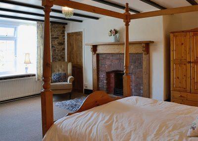 Bedroom #1 at Conifers, Johnstone