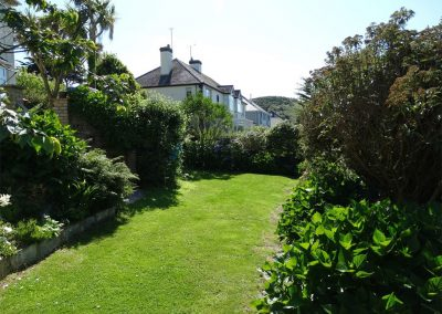 The garden at Cotfield House, Mortehoe