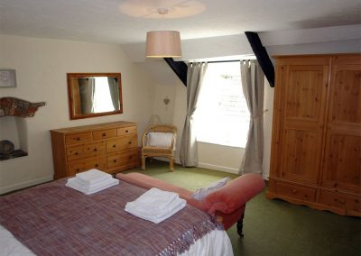 Bedroom #1 at Cousham Cottage, Cawsand