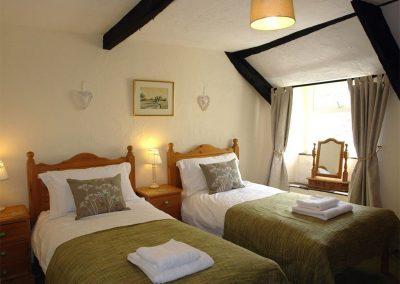 Bedroom #2 at Cousham Cottage, Cawsand