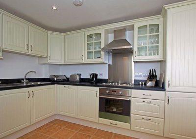 The kitchen @ Cove View, 7 Cyan, Penzance