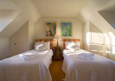 Bedroom #4 at Cragford, Sennen Cove