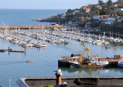The view from the patio @ Creels, Brixham