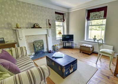 The drawing room at Croyde Country House, Croyde