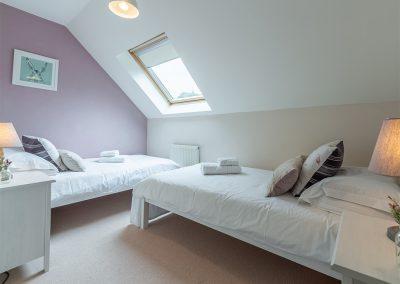 Bedroom #2 at Curlew's Cwtch, Roserrow, Polzeath