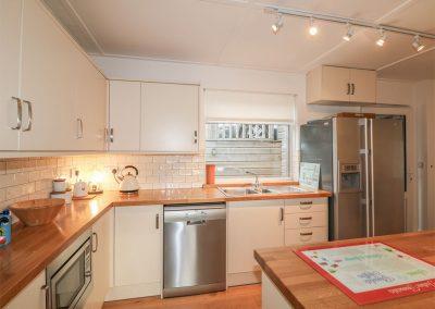 The kitchen at Cutty Sark, Mawgan Porth