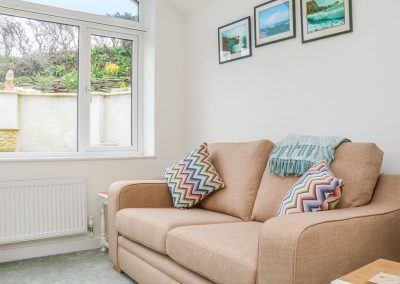 The living area at Daisy Chain Cottage, Hersham