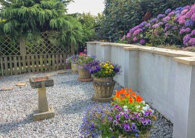 The garden at Daisy Chain Cottage, Hersham