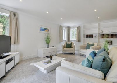 The second living area at Devon Priory, Goodleigh