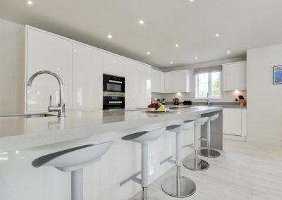 The kitchen at Devon Priory, Goodleigh