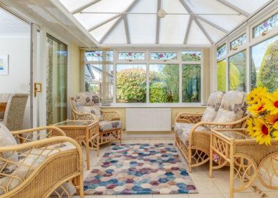 The conservatory at Devon Retreat, Paignton