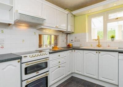 The kitchen at Devon Retreat, Paignton