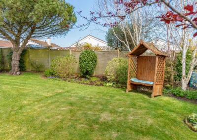 The garden at Devon Retreat, Paignton