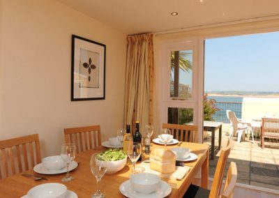 The living and dining area @ Dorey, Bideford