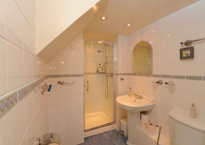En-suite to bedroom #2 @ Dorey, Bideford