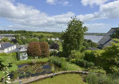 The garden at Dove Cottage, Dittisham