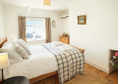 Bedroom #2 at Downsteps Beach House, Torcross