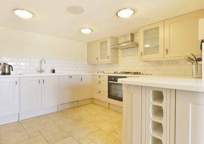 The kitchen at Drift Cottage, Turnchapel
