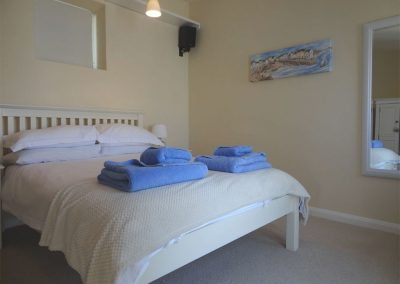 Bedroom #2 at Drift Cottage, Turnchapel