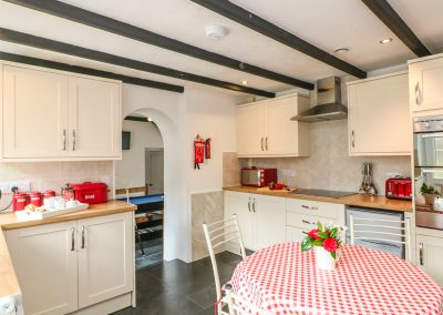 The kitchen at Dromore, St Breward