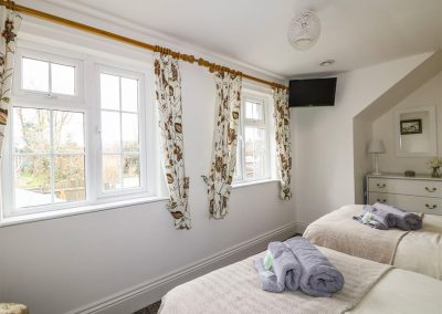 Bedroom #2 at Dromore, St Breward