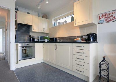 The kitchen at Dual View, 1 Linden Court, Brixham