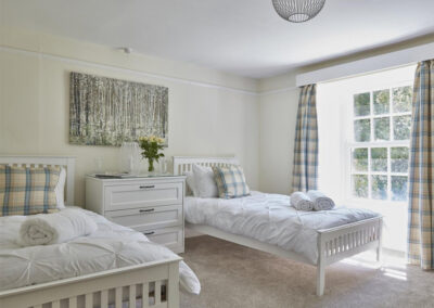 Bedroom #3 at East Hill Cottage, Parracombe