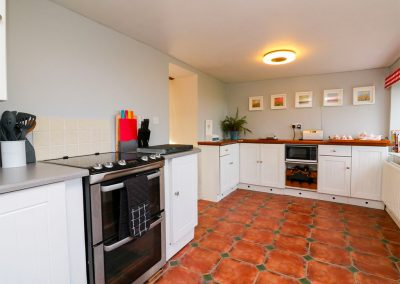 The kitchen at Easter Cottage, Berrynarbor