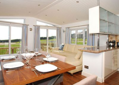 The dining area @ Eden Lodge, 9 Salcombe Retreat, Rew