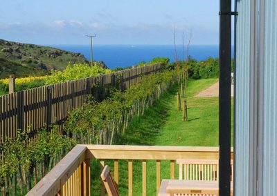 The view from Eden Lodge, 9 Salcombe Retreat, Rew
