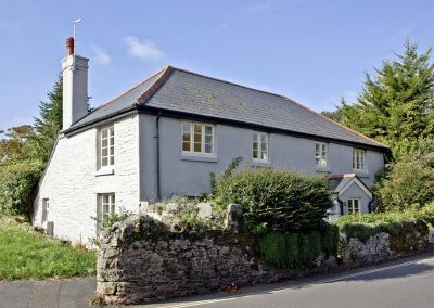 Outside Evies Cottage, Higher Brixham