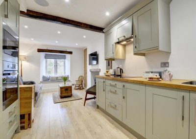 The kitchen at Exmoor Cottage, Lynmouth