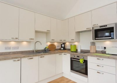 The open-plan kitchen at Fairmead, Horrabridge